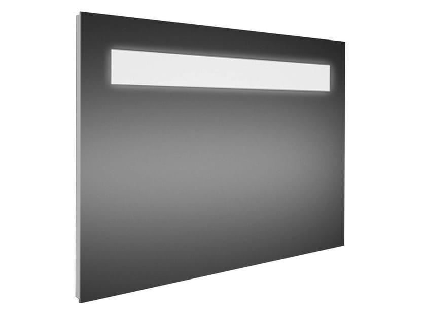 Wall-mounted bathroom mirror with integrated lighting STRADA - K2478 - Ideal Standard Italia