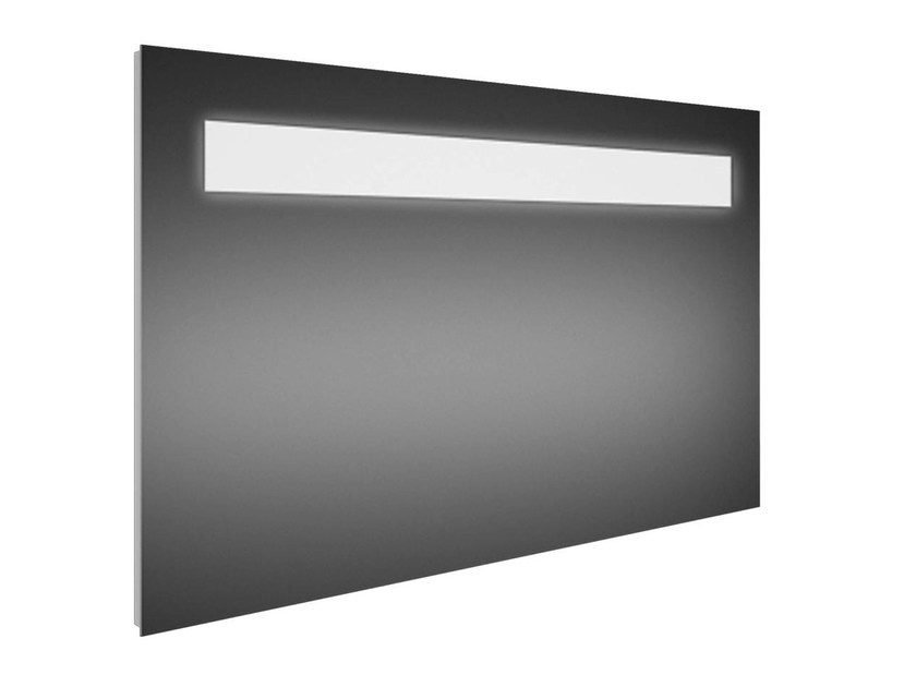 Wall-mounted bathroom mirror with integrated lighting STRADA - K2479 - Ideal Standard Italia