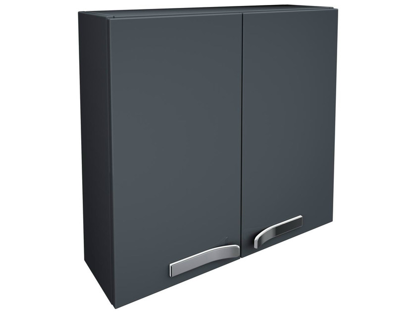 Double wall cabinet with doors STRADA - K2456 by Ideal Standard