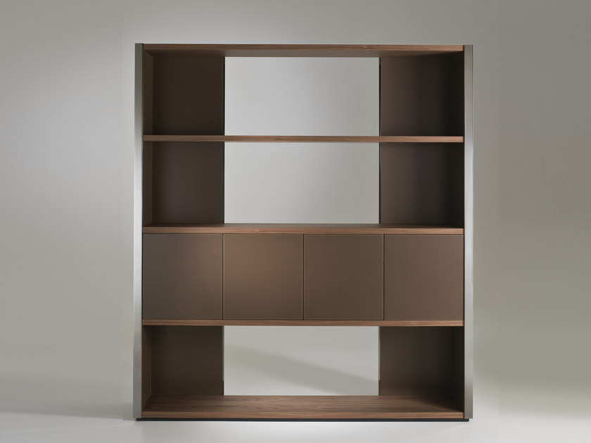Open double-sided bookcase ELLE | Wooden bookcase - i 4 Mariani
