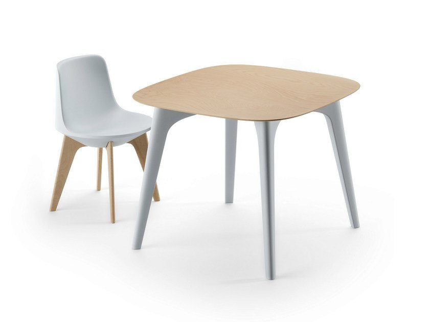 Square HPL table PLANET TABLE by Plust