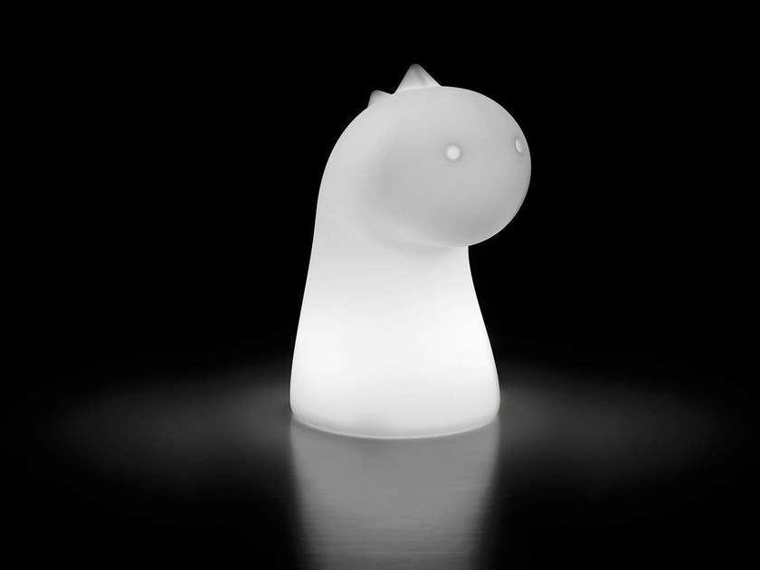 Polyethylene table lamp for children DRAGHETTO LIGHT - PLUST Collection by euro3plast