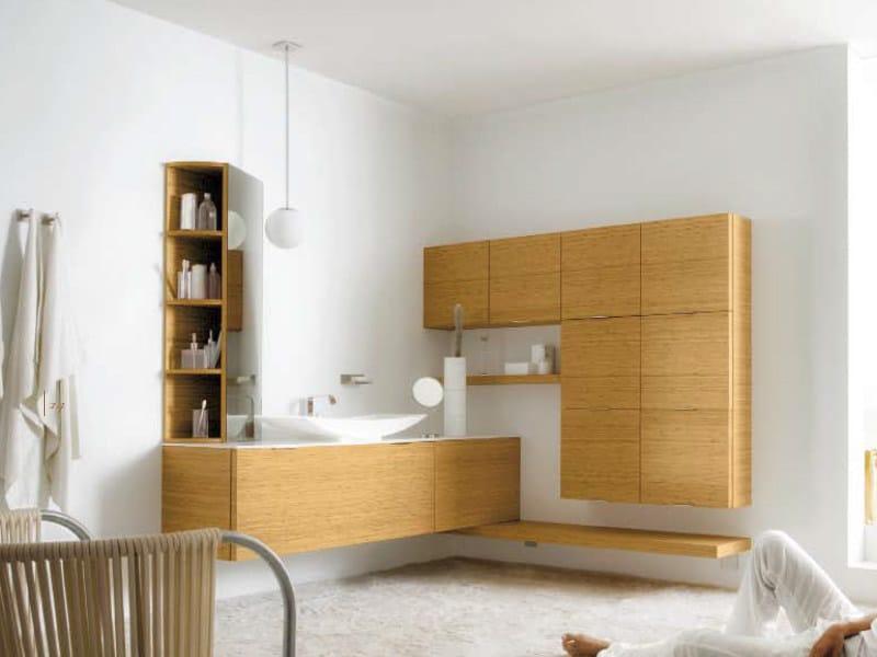 Wall-mounted vanity unit MAORI 2 | Vanity unit - Cerasa