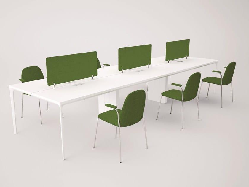 Multiple office workstation for open space DADA | Office workstation - Grado Design Furnitures