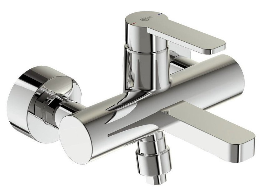 Wall-mounted single handle bathtub mixer with temperature limiter GIÒ - B0622 - Ideal Standard Italia