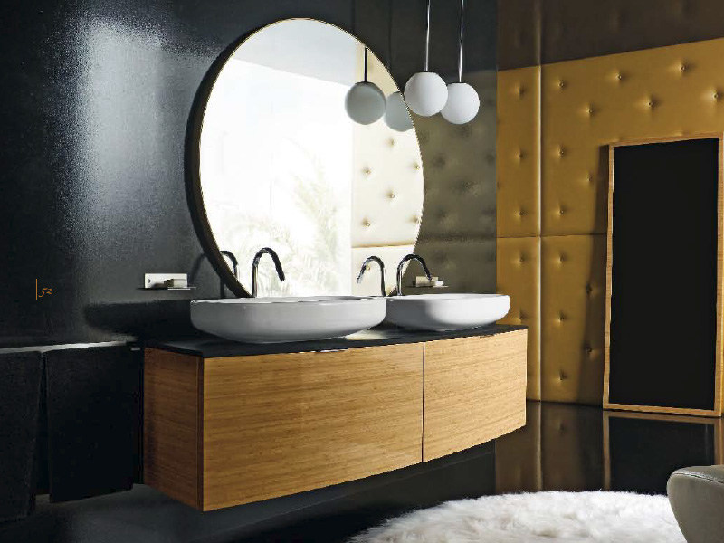 Wall-mounted vanity unit MAORI 7 | Vanity unit by Cerasa