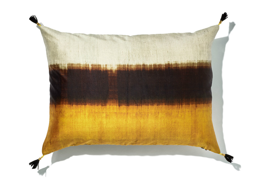 Rectangular silk cushion with removable cover DREAM - Élitis