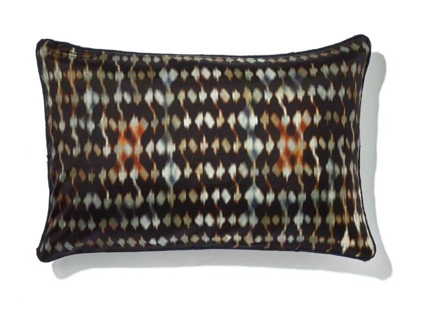 Rectangular silk cushion with removable cover GEMMA - Élitis