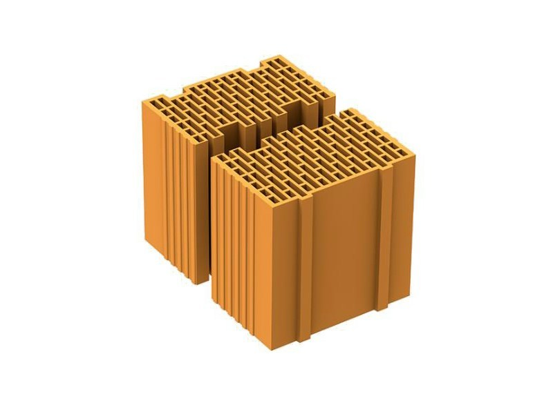 Thermal insulating clay block MEZZA POROTON P700 TS - FORNACI LATERIZI DANESI