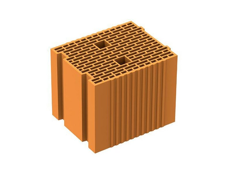 Thermal insulating clay block POROTON P700 TS - FORNACI LATERIZI DANESI