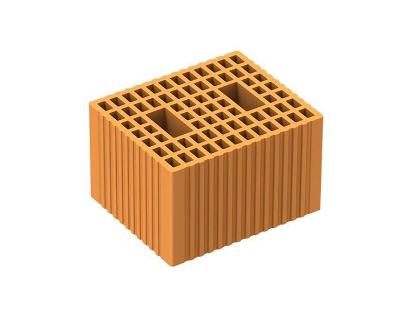 Thermal insulating clay block POROTON P800 - FORNACI LATERIZI DANESI