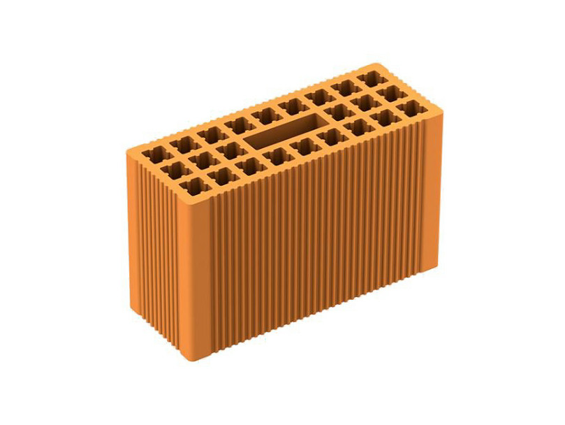 Thermal insulating clay block MEZZA POROTON P800 - FORNACI LATERIZI DANESI