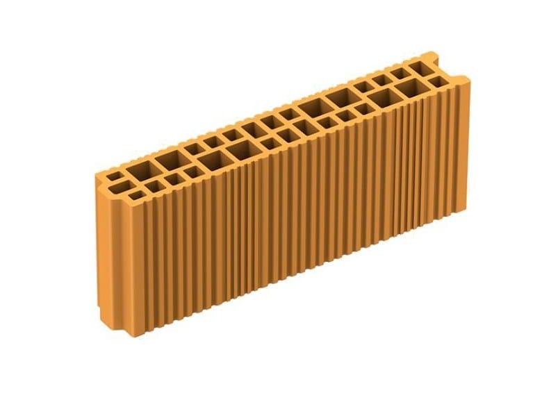 Clay block for internal partition TRAMEZZA POROTON - FORNACI LATERIZI DANESI
