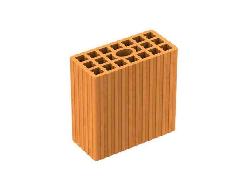 Loadbearing clay block DOPPIO UNI - FORNACI LATERIZI DANESI