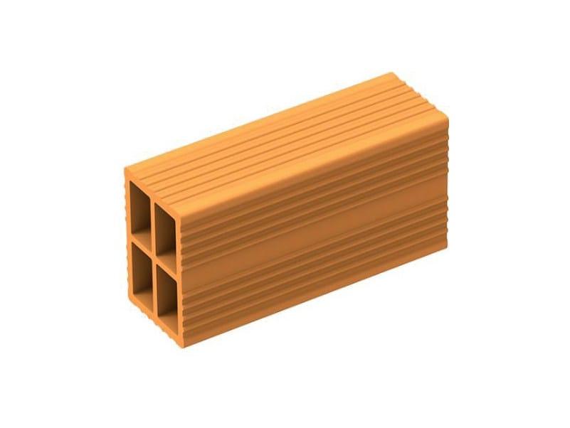 Thermal insulating clay block QUATTRO FORI - FORNACI LATERIZI DANESI