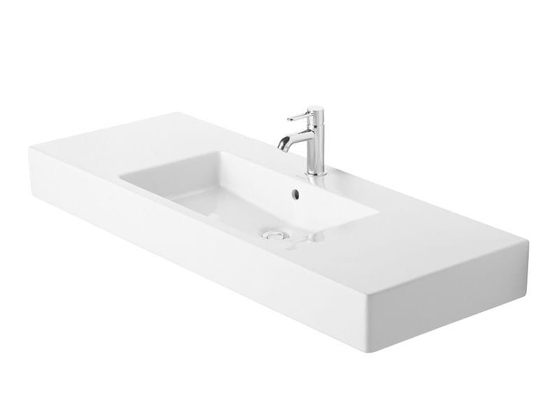 Rectangular ceramic washbasin VERO | Washbasin - DURAVIT