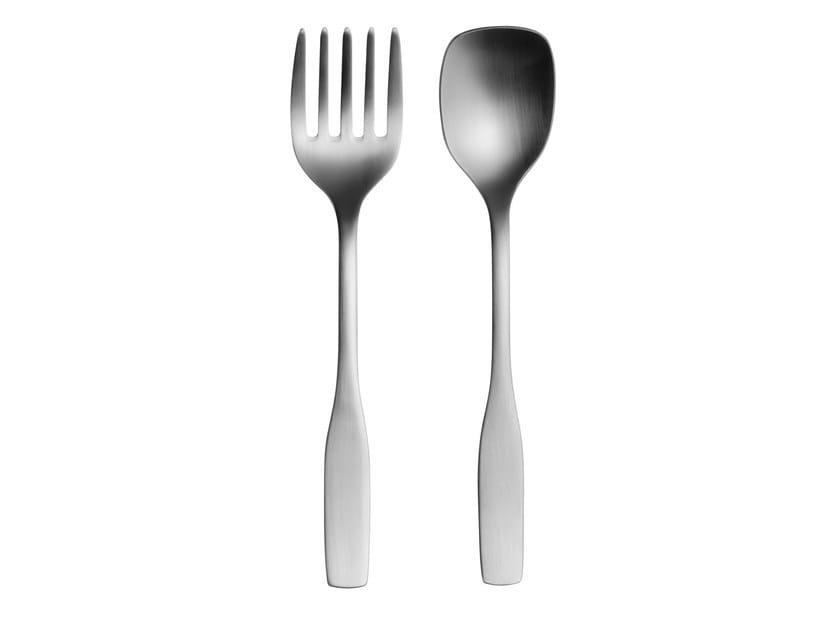 Stainless steel serving set CITTERIO 98 | Cutlery set - iittala