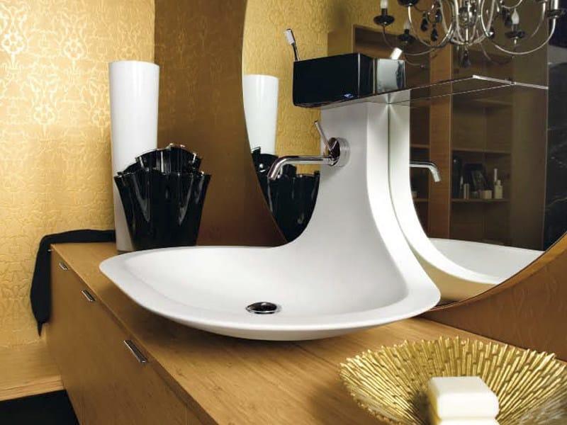 Countertop washbasin TAKI 2 by Cerasa