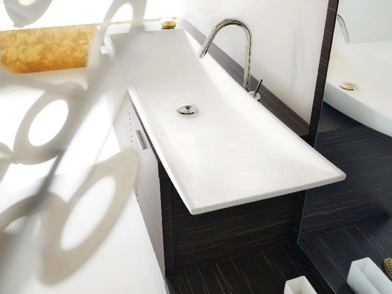 Countertop washbasin KAO 125 - Cerasa
