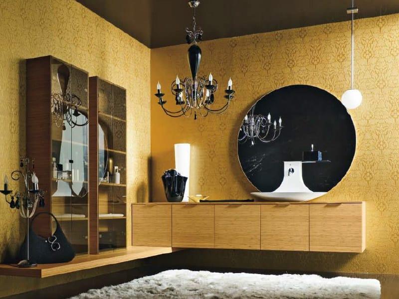 Wall-mounted vanity unit MAORI 13 | Vanity unit - Cerasa