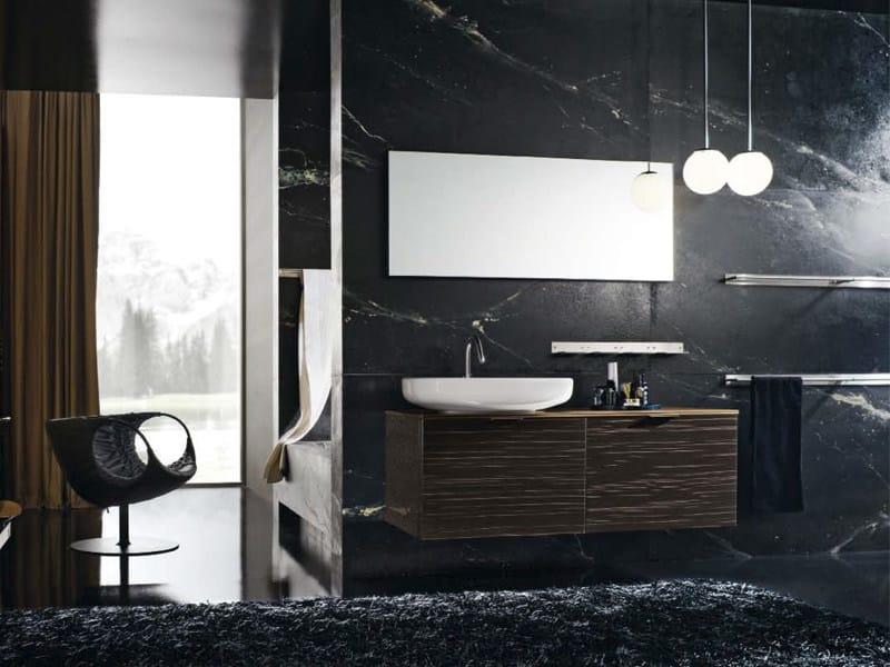 Wall-mounted vanity unit MAORI 15 | Vanity unit - Cerasa