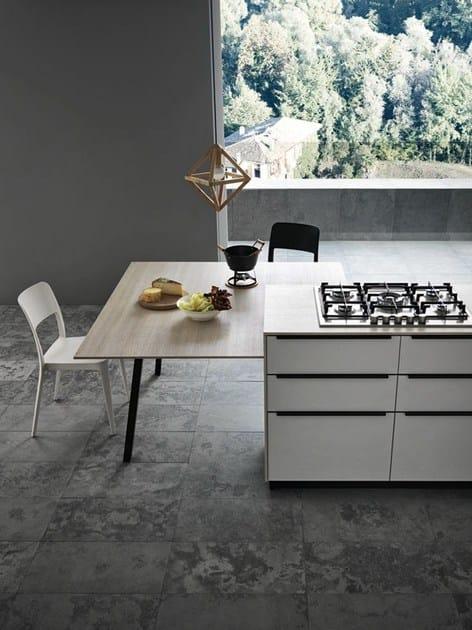 Cucina componibile con maniglie ariel   composizione 1   cesar ...