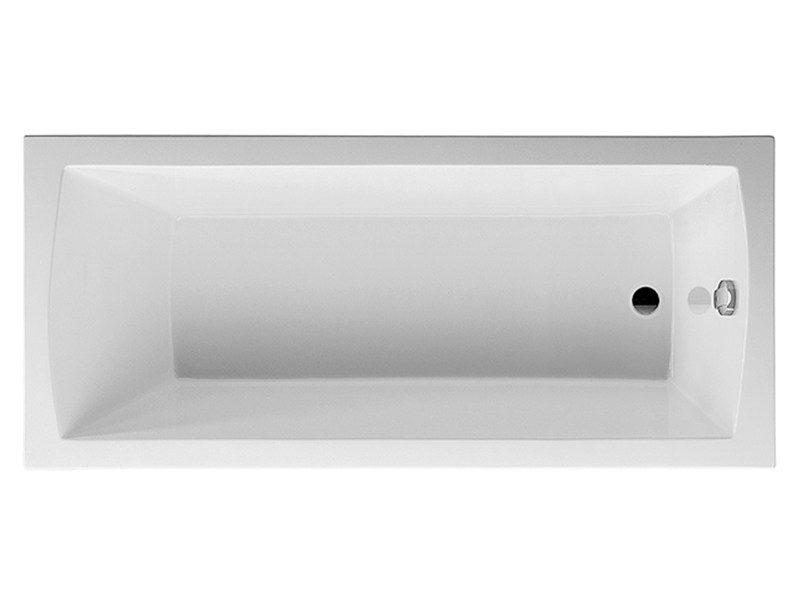 Built-in rectangular bathtub DARO | Built-in bathtub by Duravit