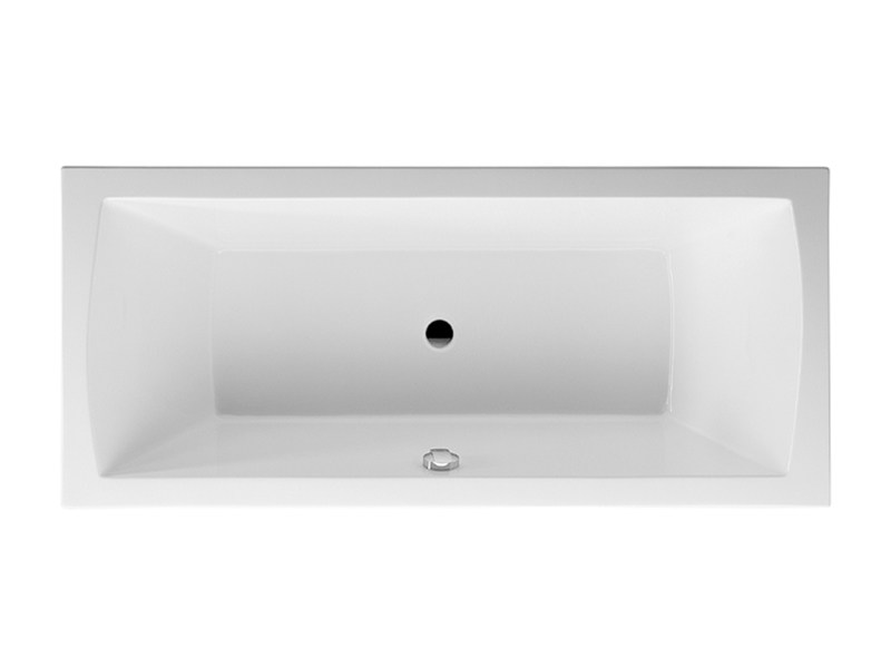 Built-in rectangular bathtub DARO | Built-in bathtub - DURAVIT