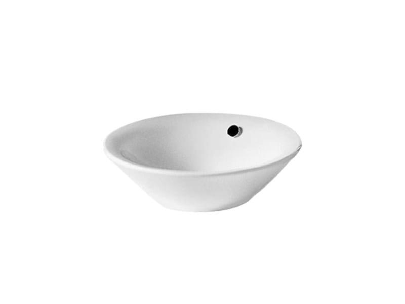 Countertop ceramic washbasin STARCK 1 | Countertop washbasin - DURAVIT