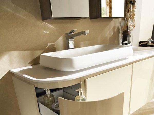 Countertop washbasin KAMA - Cerasa