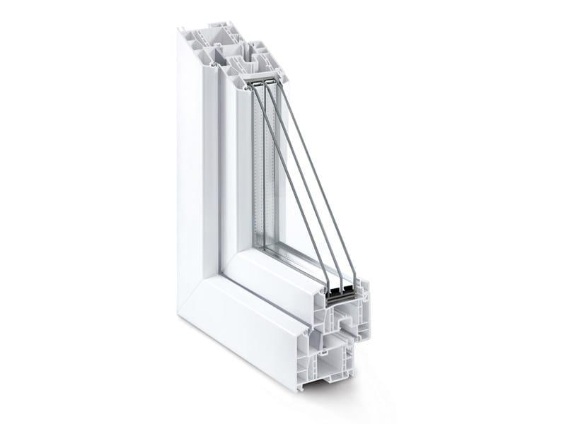 Porta-finestra a battente in PVC GENEO - REHAU