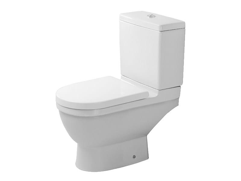Close coupled ceramic toilet STARCK 3   Ceramic toilet - DURAVIT