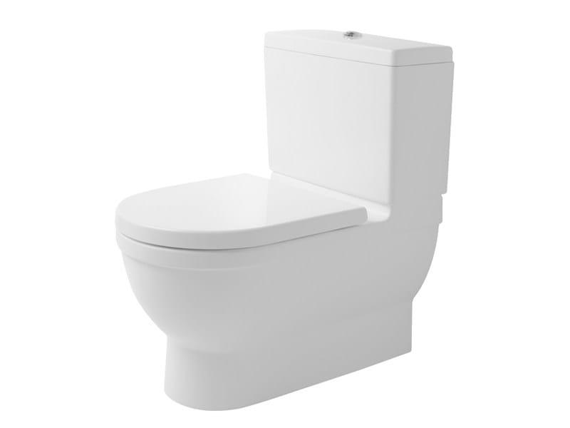 Close coupled ceramic toilet STARCK 3 | Ceramic toilet - DURAVIT