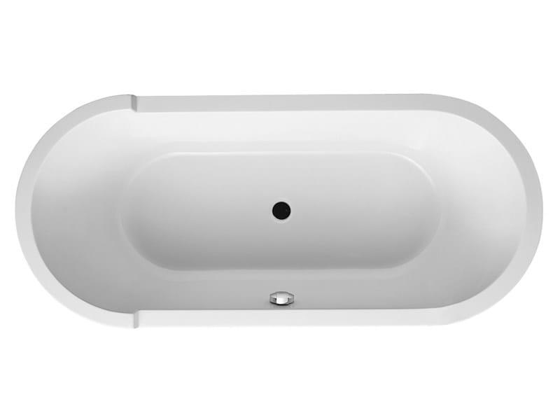 Built-in oval bathtub STARCK   Acrylic bathtub by Duravit