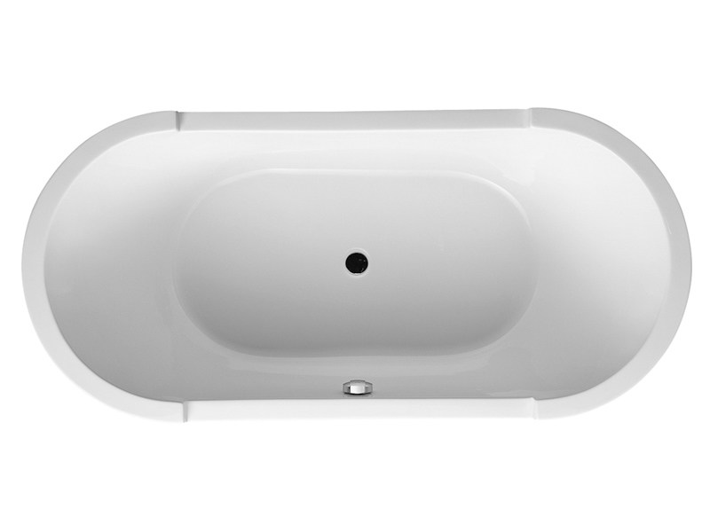 Freestanding oval bathtub STARCK | Acrylic bathtub - DURAVIT