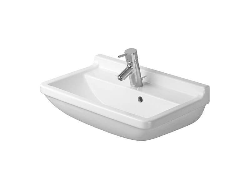 Ceramic washbasin with overflow STARCK 3 | Washbasin by Duravit