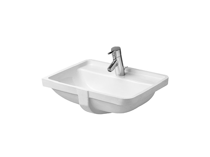 Undermount ceramic washbasin STARCK 3 | Undermount washbasin - DURAVIT