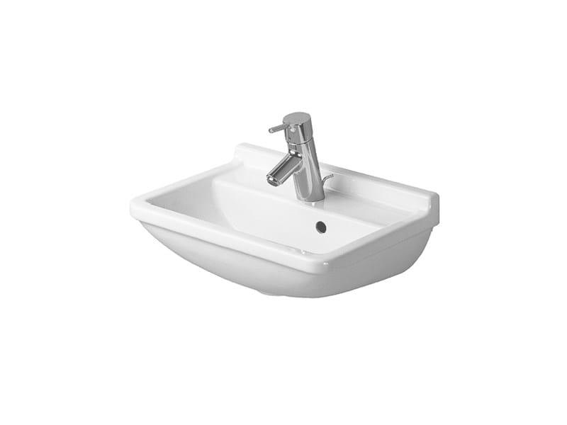 Rectangular ceramic handrinse basin STARCK 3 | Handrinse basin - DURAVIT