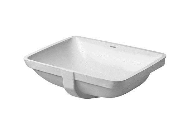 Undermount ceramic washbasin STARCK 3 | Undermount washbasin - DURAVIT