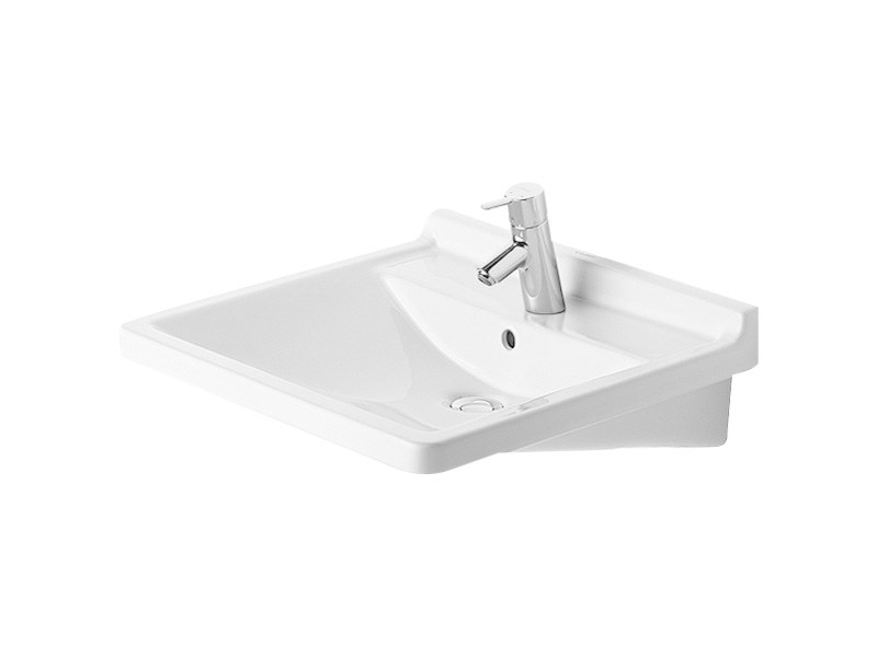 Ceramic washbasin for disabled STARCK 3 | Washbasin for disabled - DURAVIT