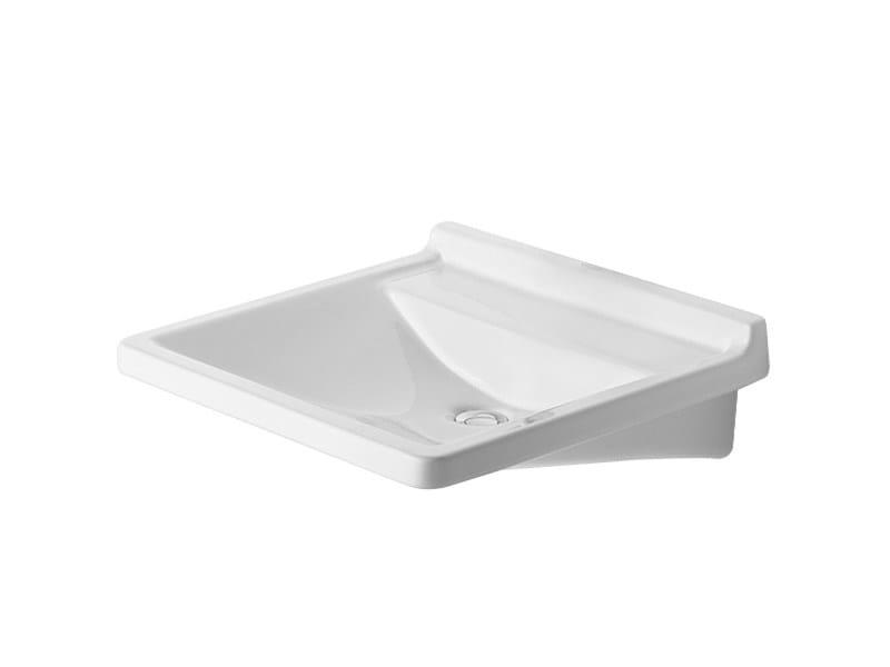 Ceramic washbasin for disabled STARCK 3   Washbasin for disabled by Duravit