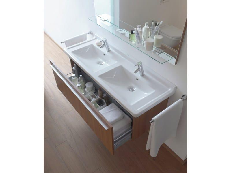 lavabo doppio in ceramica starck 3 lavabo doppio duravit. Black Bedroom Furniture Sets. Home Design Ideas