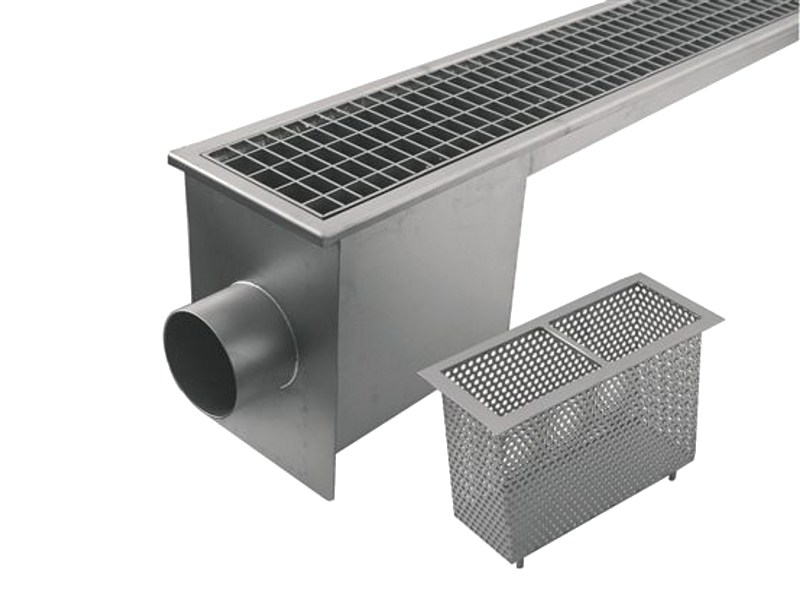 Channel with grating cover Channel with grating cover PC024 by LEONI