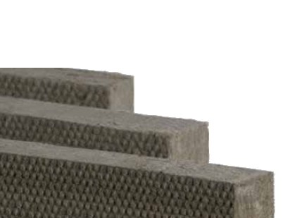 Thermal insulation sheet and panel in mineral fibre / Sound insulation and sound absorbing panel in mineral fibre FIBRANgeo B-570 - FIBRAN