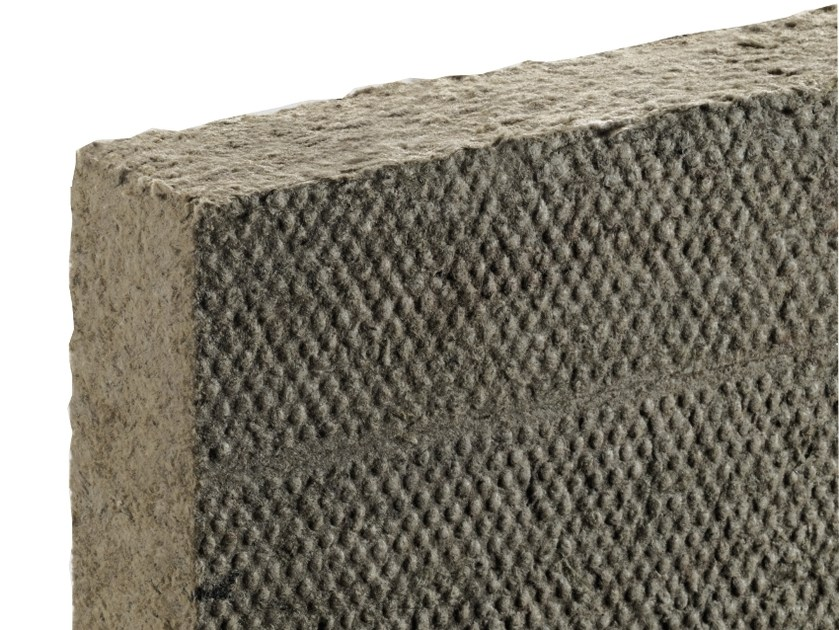 Thermal insulation sheet and panel in mineral fibre / Sound insulation and sound absorbing panel in mineral fibre FIBRANgeo B-051 by FIBRAN