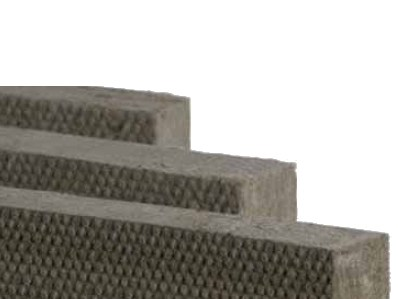 Thermal insulation sheet and panel in mineral fibre / Sound insulation and sound absorbing panel in mineral fibre FIBRANgeo B-571 - FIBRAN