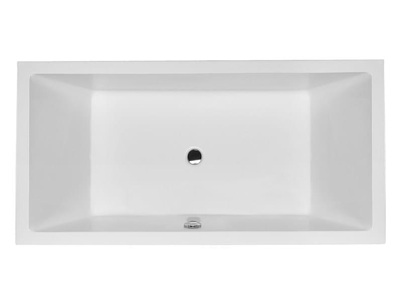 Built-in rectangular bathtub STARCK 1 | Built-in bathtub - DURAVIT