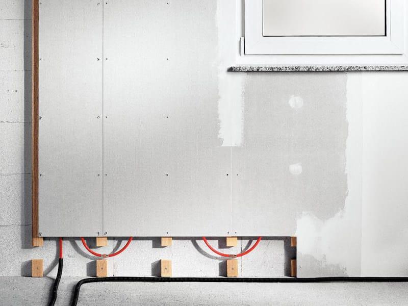 Gypsum fiber Radiant wall panel FONTERRA SIDE 12 - Viega Italia