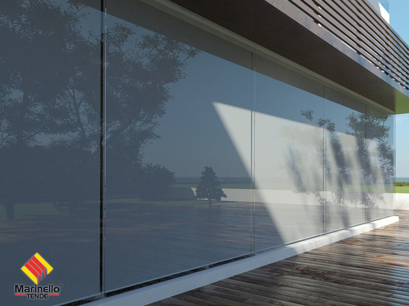 Dimming roller blind CUNEO 85 by Marinello Tende