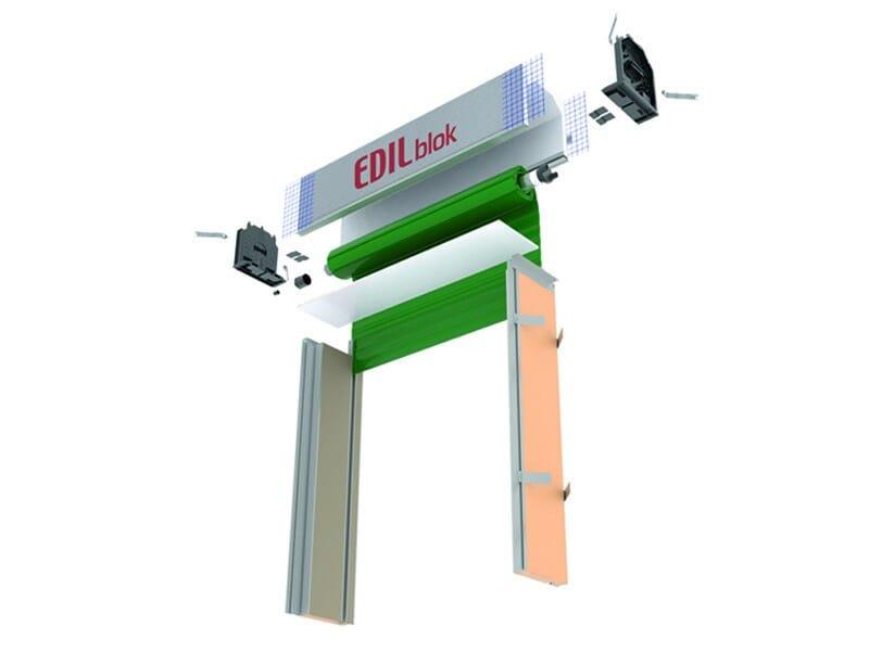 Box for roller shutters EDILblok - EDILCASS